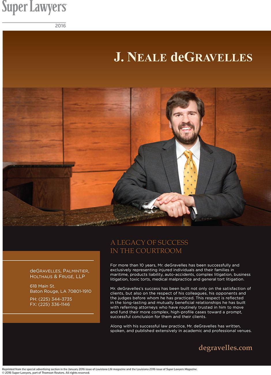 J. Neale deGravelles